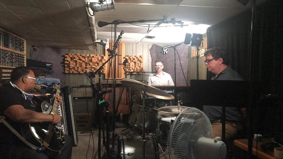 Drummer Rick Hicks, organist Jim Alfredson and drummer Jeff Shoup revived the Jazz Tuesdays livestream last week after 10 weeks of solitary lockdown.