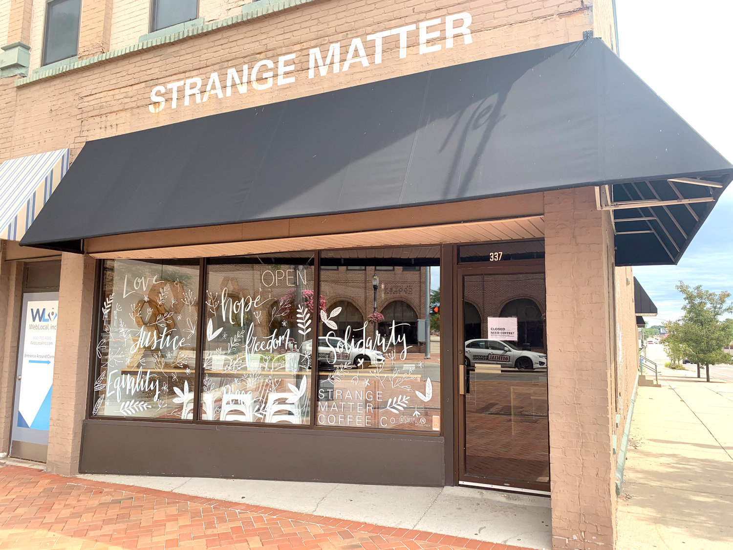 Strange Matter Coffee closed its downtown Lansing location on Washington Square last week, but the local chain is still offering curbside sales and deliveries from its cafe on East Michigan Avenue.
