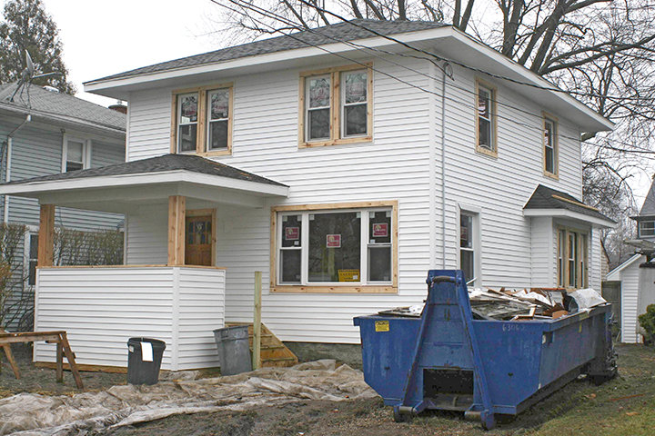 The $50,000 makeover of a tax-foreclosed, vacated house at 530 Pacific Ave. in south Lansing is one of 255 renovations the Ingham County Land Bank has done in its 15 years of existence.