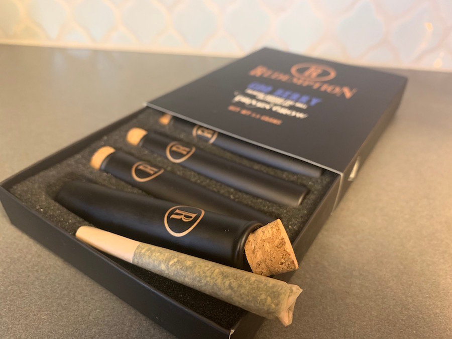 Redemption Cannabis  — Goo Berry Prerolled Joints