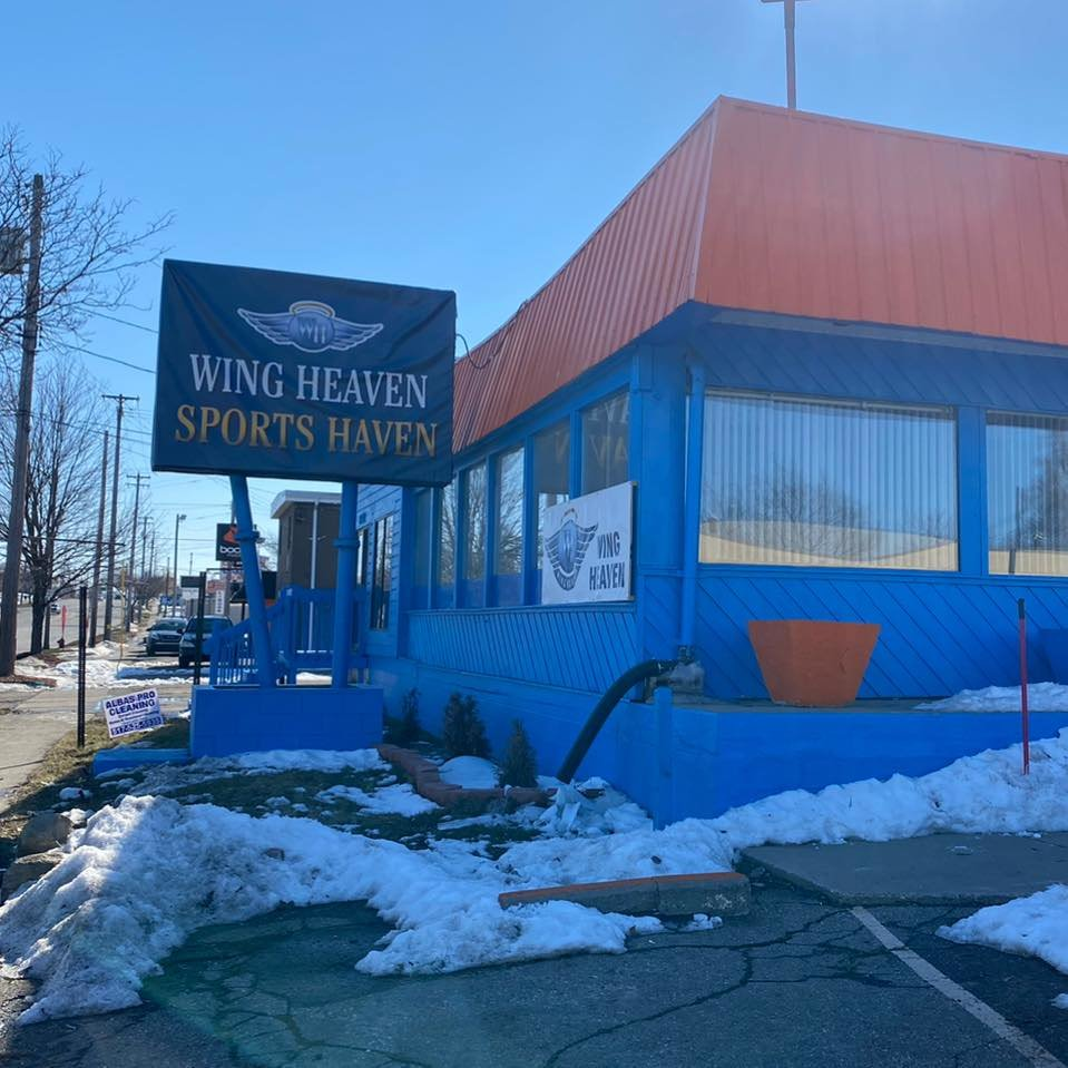 Wing Heaven Sports Haven on Martin Luther King Jr. Blvd.