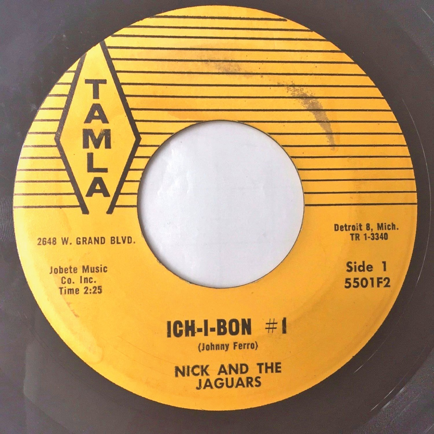 "Issued in Aug. 1959, ""Ich-I-Bon #1"" is one of the earliest Motown releases."