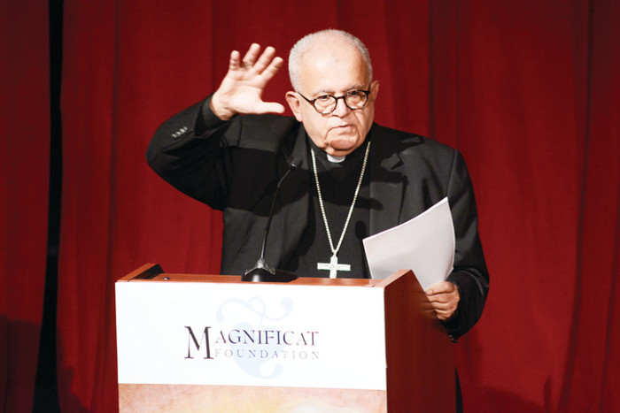 Archbishop J. Augustine Di Noia, a native of the Bronx, delivers the 2016 Edward Cardinal Egan Lecture sponsored by the Magnificat Foundation.