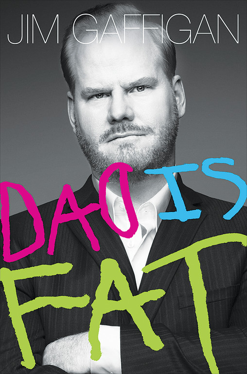 "SUCCESS STORY—Catholic and comedian Jim Gaffigan's first book, ""Dad Is Fat,"" above, was published in 2013. His second book, ""Food: A Love Story,"" is due for release Oct. 21."