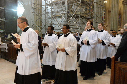 Chrism Mass at the Cathedral | Catholic New York