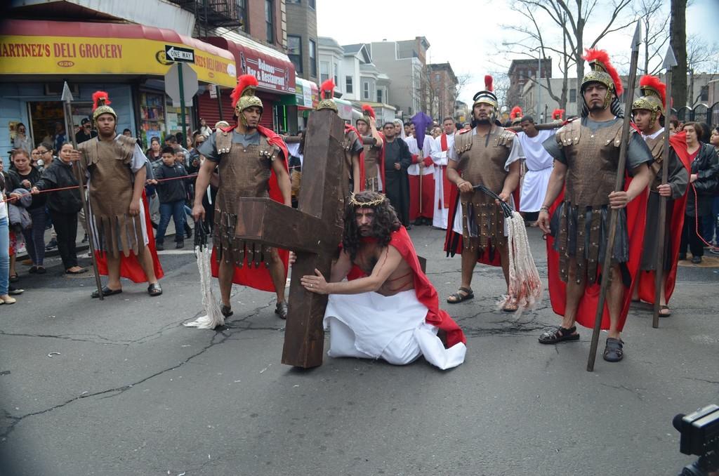 Via Crucis In The Bronx Catholic New York