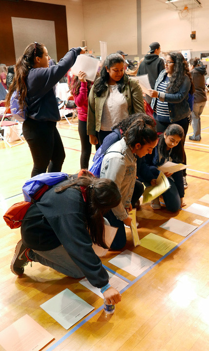 "Also at New York Catholic Youth Day April 30, they participate in ""Mercy Games,"" including a travel game from Catholic Relief Services called ""Crossroads of the World."