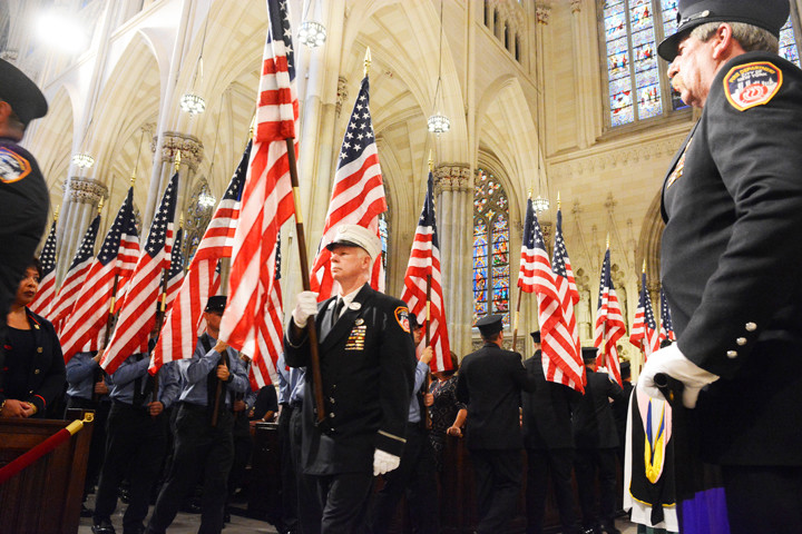 Sept 10, 2016 15th anniversary memorial service held at St Patrick's Cathedral.