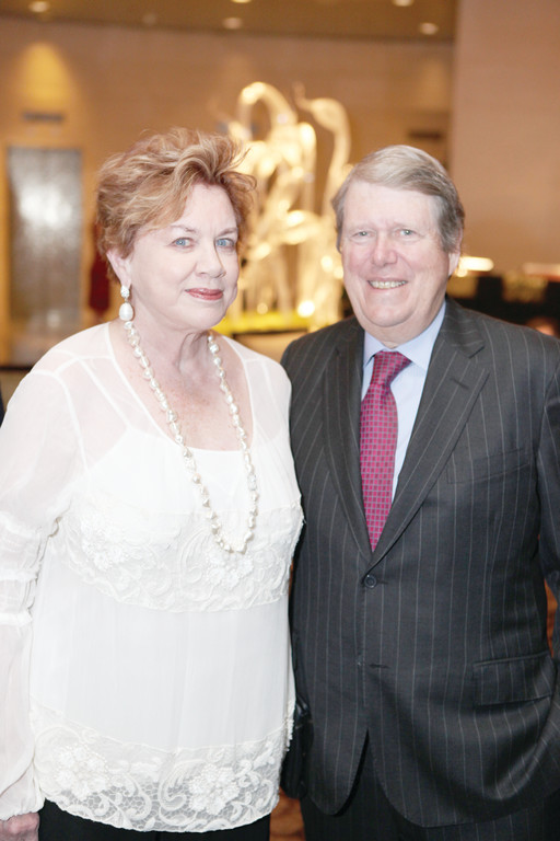 Judy and Russ Carson were honored for their commitment to inner-city students and Catholic schools.