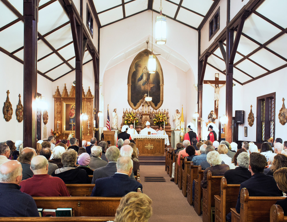 The picturesque Our Lady of Mercy in Roseton concluded its 125th anniversary celebration last October with a Mass.