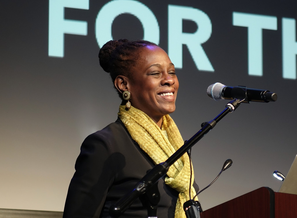 Chirlane McCray, first lady of New York City, delivers the keynote address.