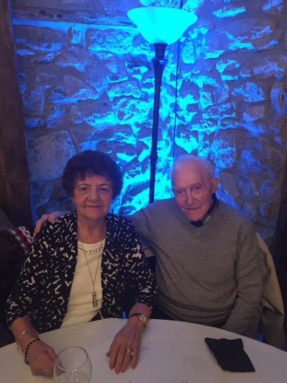 Anthony and Teresa Stellabotte of Staten Island, shown at the Sweet 16 birthday party for their great-granddaughter Kayla Stellabotte on Feb. 4, celebrated their 72nd wedding anniversary Jan. 21, making them the longest-married couple in the archdiocese.