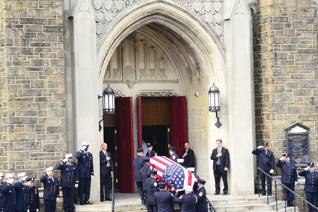 Funeral for EMT Yadira Arroyo.