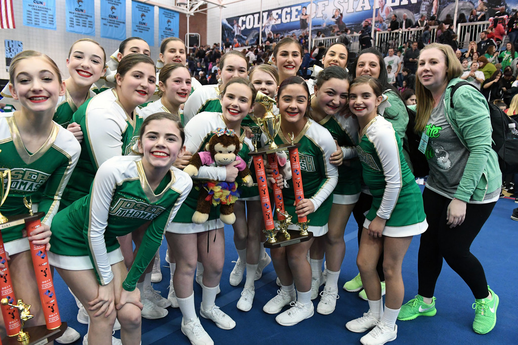 Varsity first place winner is St Joseph-St Thomas.