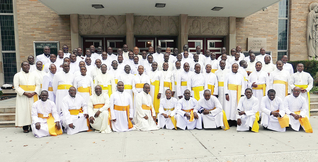 The U.S. Region/Province of the Apostles of Jesus Missionary Congregation held its 22nd annual assembly in the Bronx, which concluded with a Mass at Holy Family Church July 27. There are more 90 priests in the U.S. Region/Province, and more than 80 attended the first-ever Bronx assembly. Father Peter Mushi, A.J., pastor of St. Cecilia's parish in Manhattan, and Father Steve Masinde, A.J., local superior and pastor at SS. Philip and James in the Bronx, were among assembly participants.