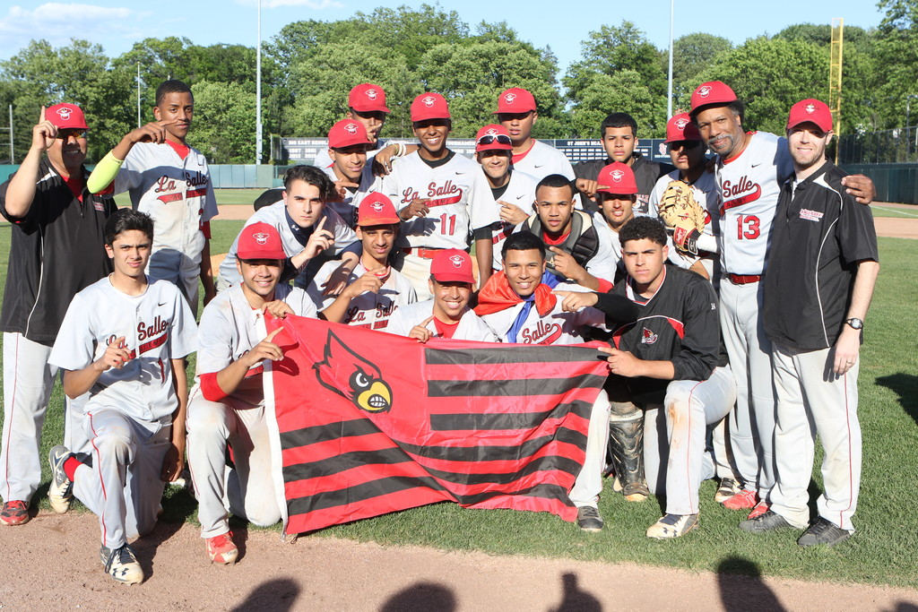 La Salle's varsity baseball squad was one of five Cardinals' teams to win city championships last year.