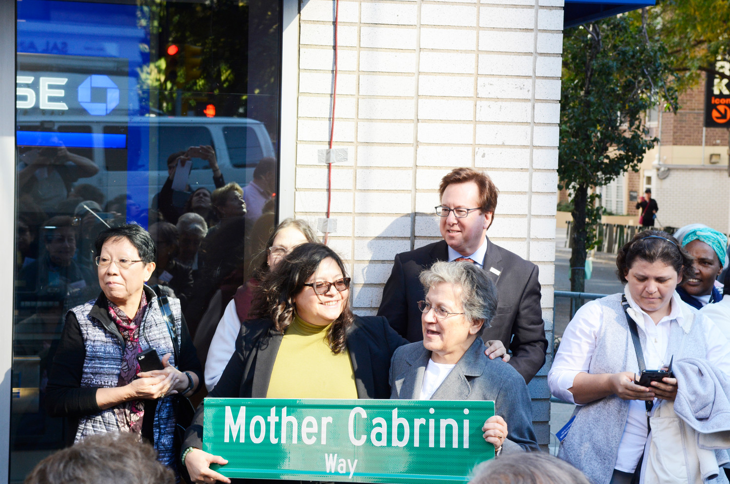 Participants included New York City Council Member Rosie Mendez, and Sister Pietrina Raccuglia, M.S.C., provincial of the Missionaries of the Sacred Heart of Jesus, the religious congregation founded by Mother Cabrini.