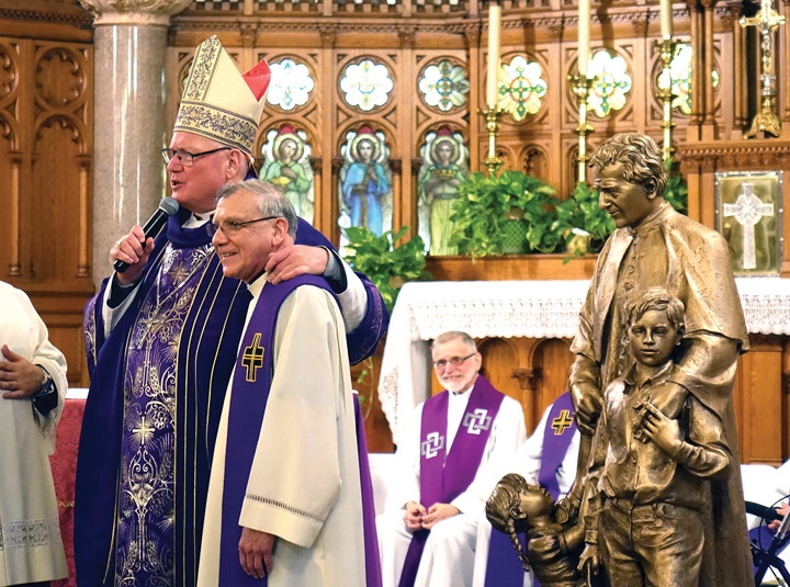 NEW PARISH—