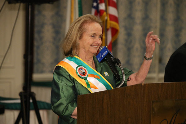 Loretta Brennan Glucksman is the grand marshal of the 257th New York City St. Patrick's Day Parade.
