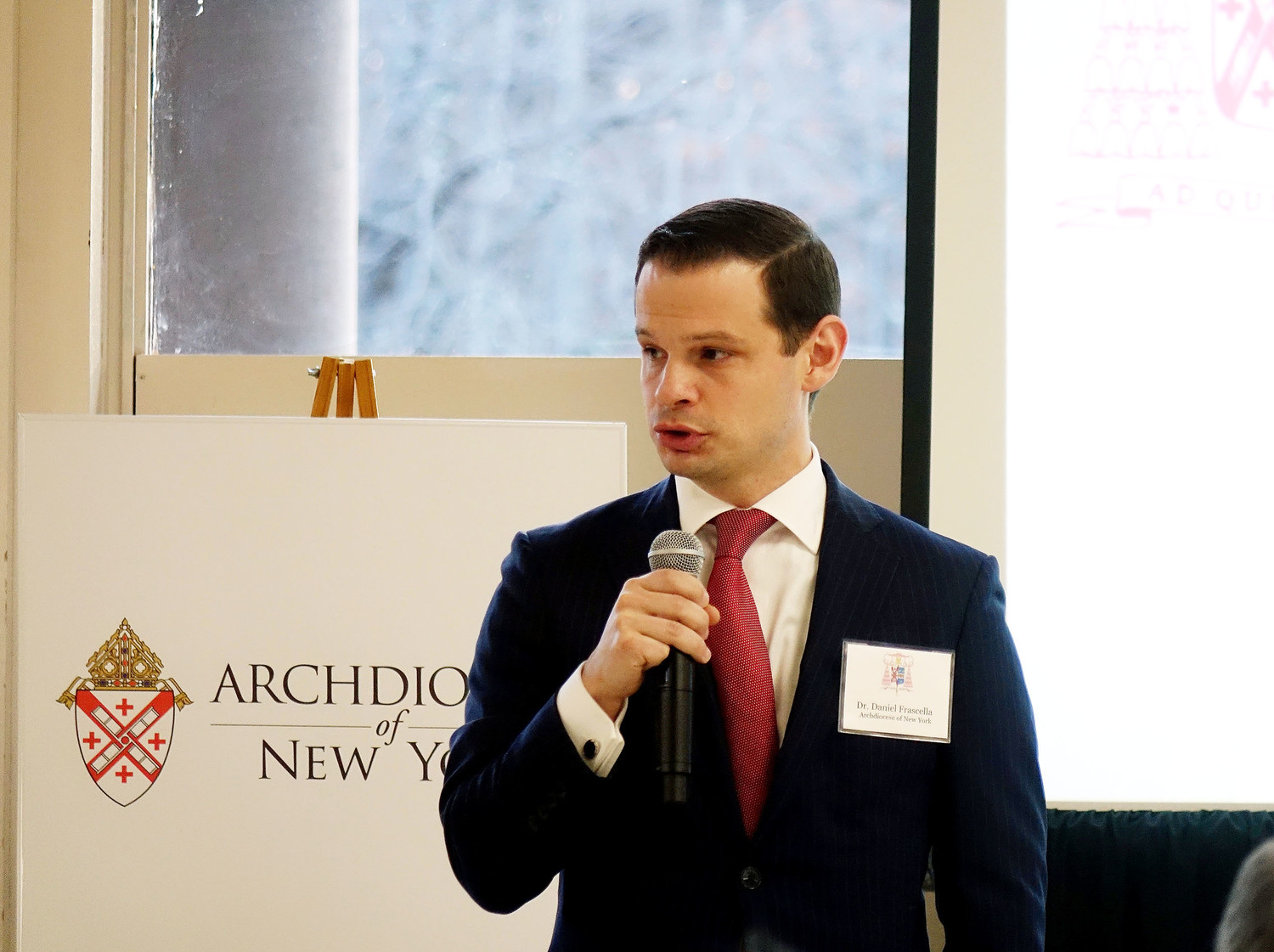Dr. Daniel Frascella, director of the archdiocese's Adult Faith Formation Office, discusses the support his office receives from the Cardinal's Appeal.
