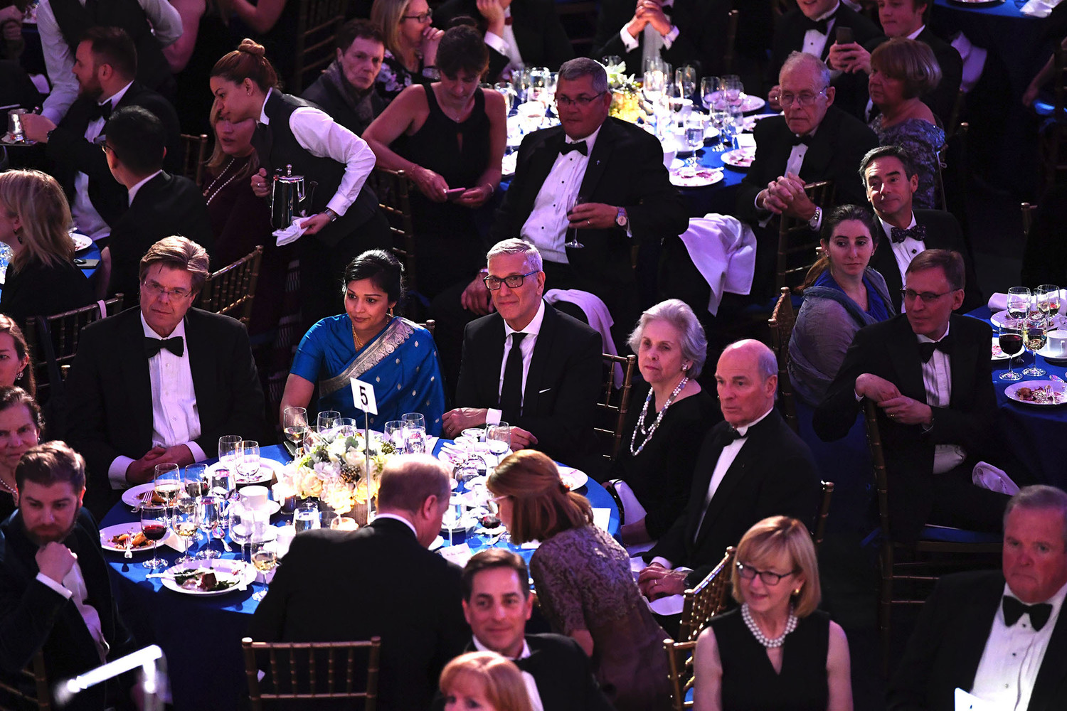 Archdiocesan Catholic Charities held its annual gala at the American Museum of Natural History in Manhattan April 9.