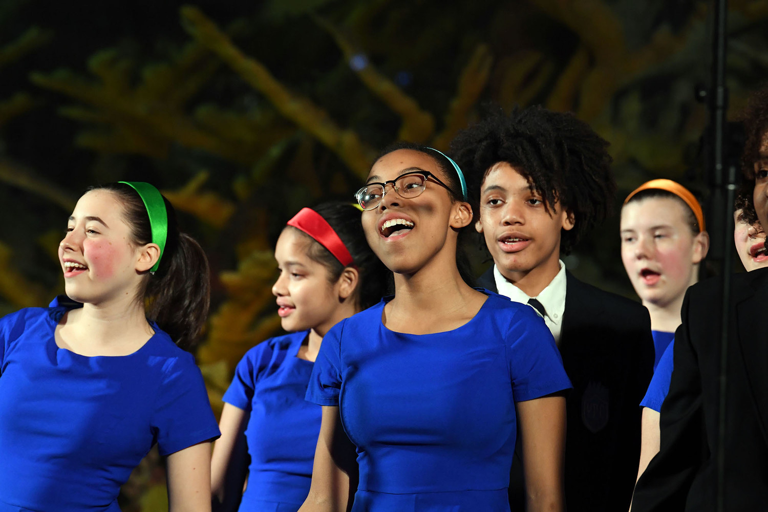 The Young People's Chorus of New York City performs.