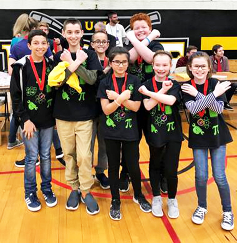 Team Ex-Stream from St. Patrick's School in Yorktown Heights is set for Globals in Knoxville, Tenn., this month.