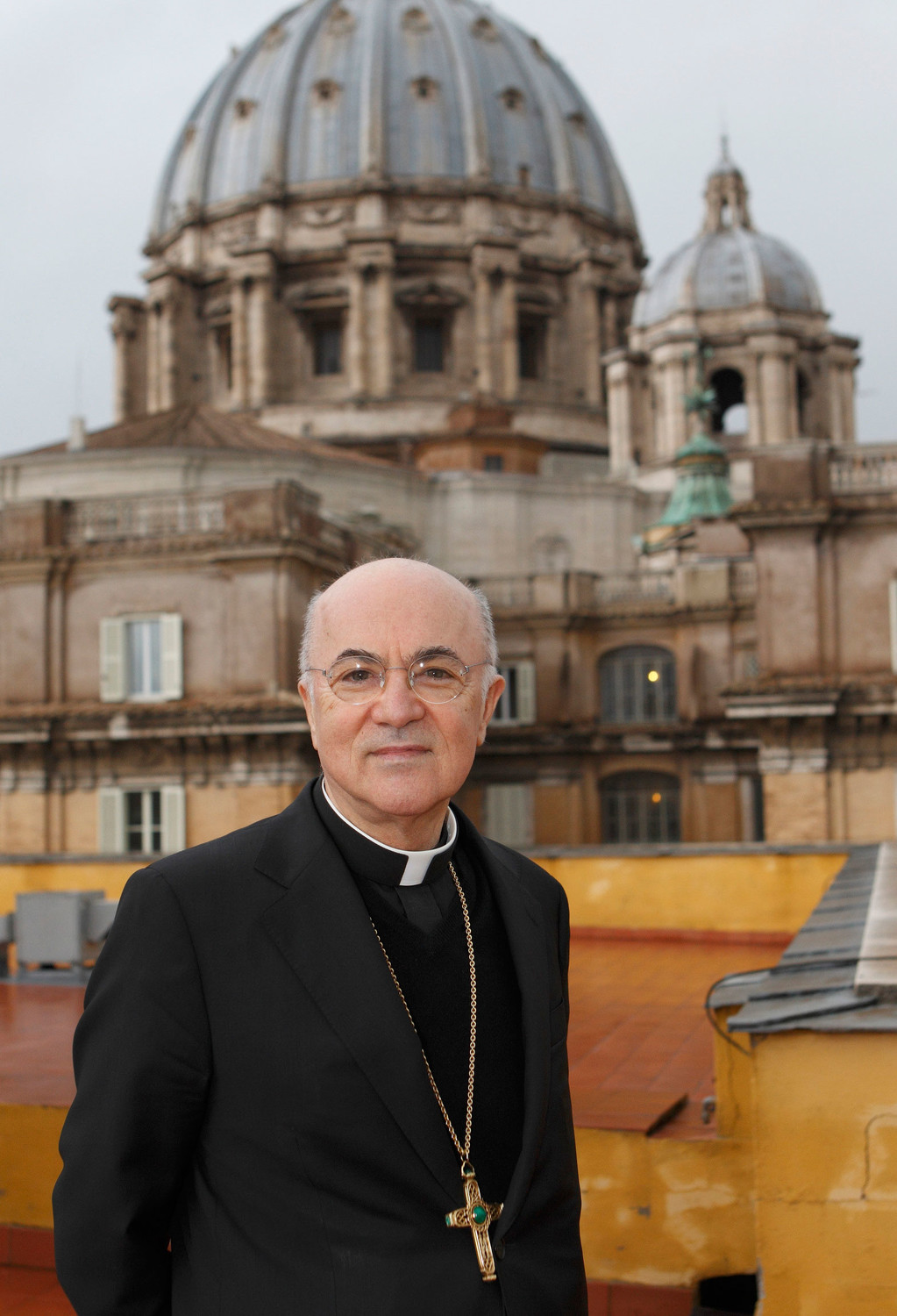 "Italian Archbishop Carlo Maria Vigano, the former nuncio to the United States, at the Vatican in 2011. Archbishop Vigano, in a long ""testimony"" published Aug. 26, said Church officials, including Pope Francis, failed to act on accusations of abuse by Archbishop Theodore E. McCarrick."