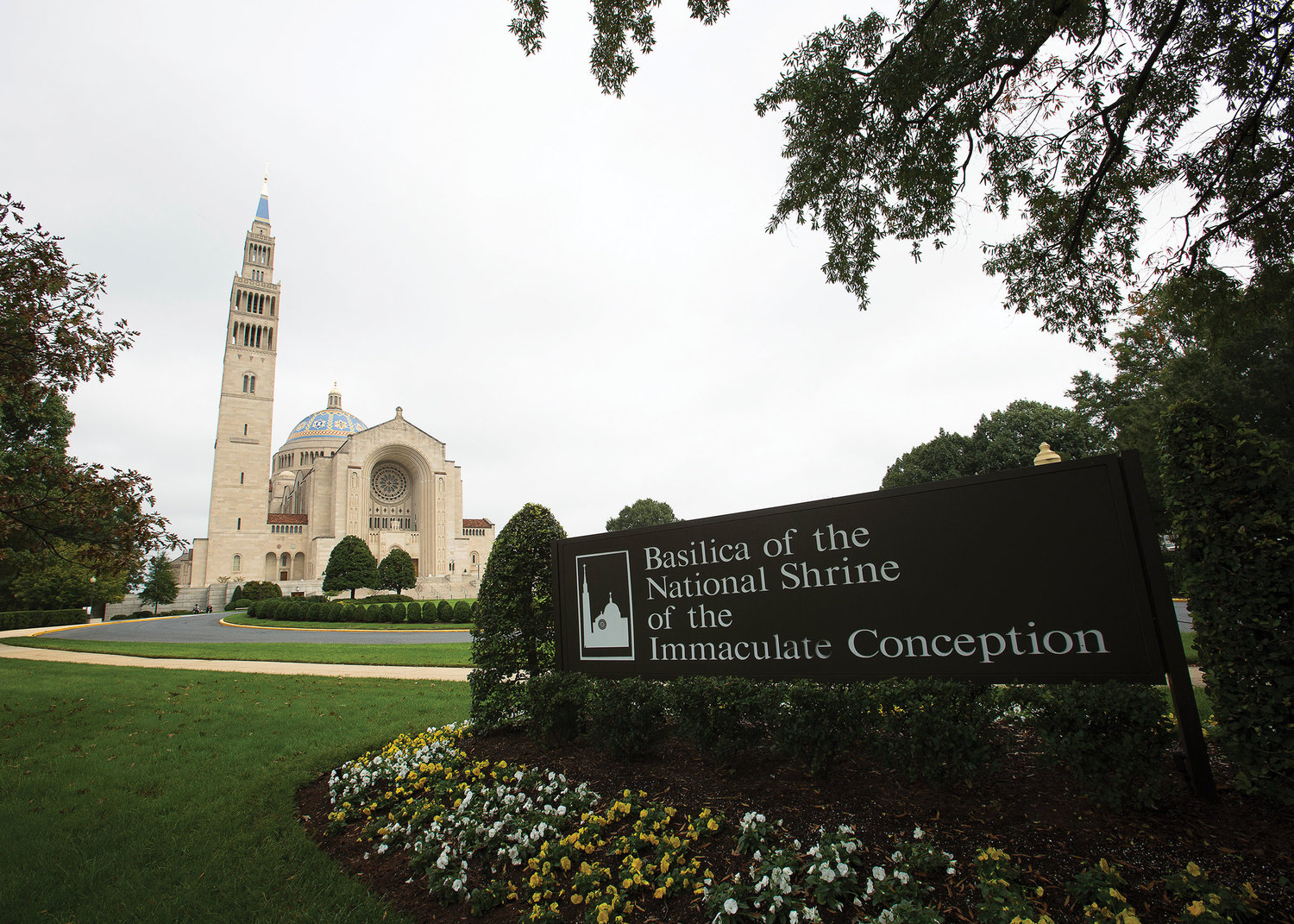 The Basilica of the National Shrine of the Immaculate Conception in Washington, D.C., is the largest Catholic church in the United States, and it is among the largest in the world. For the third time during Cardinal Dolan's tenure as Archbishop of New York, the basilica served as a pilgrimage destination for the archdiocese. A total of 300 New York pilgrims visited Oct. 6.