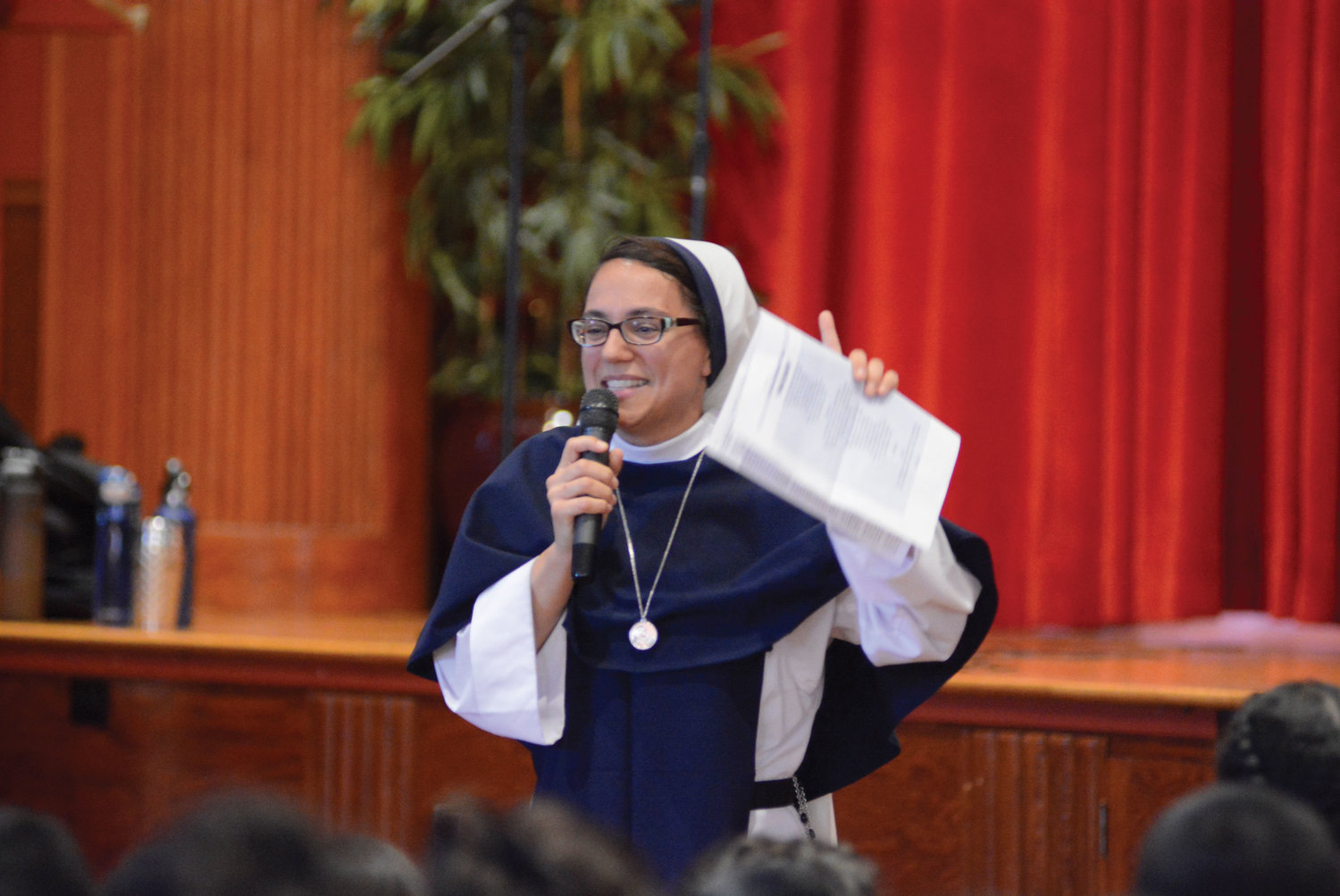 Sister Gianna Maria, S.V., tells her vocation story as a rap.