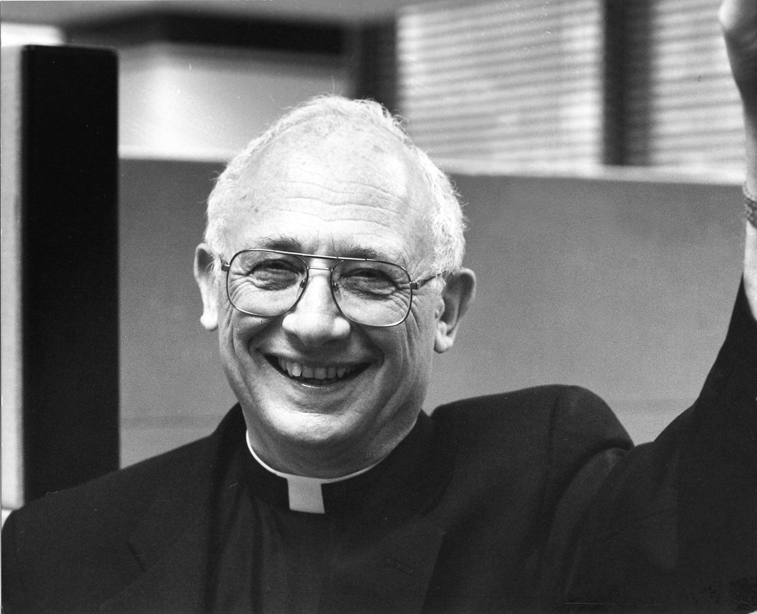 Bishop Brucato's signature smile was an asset.