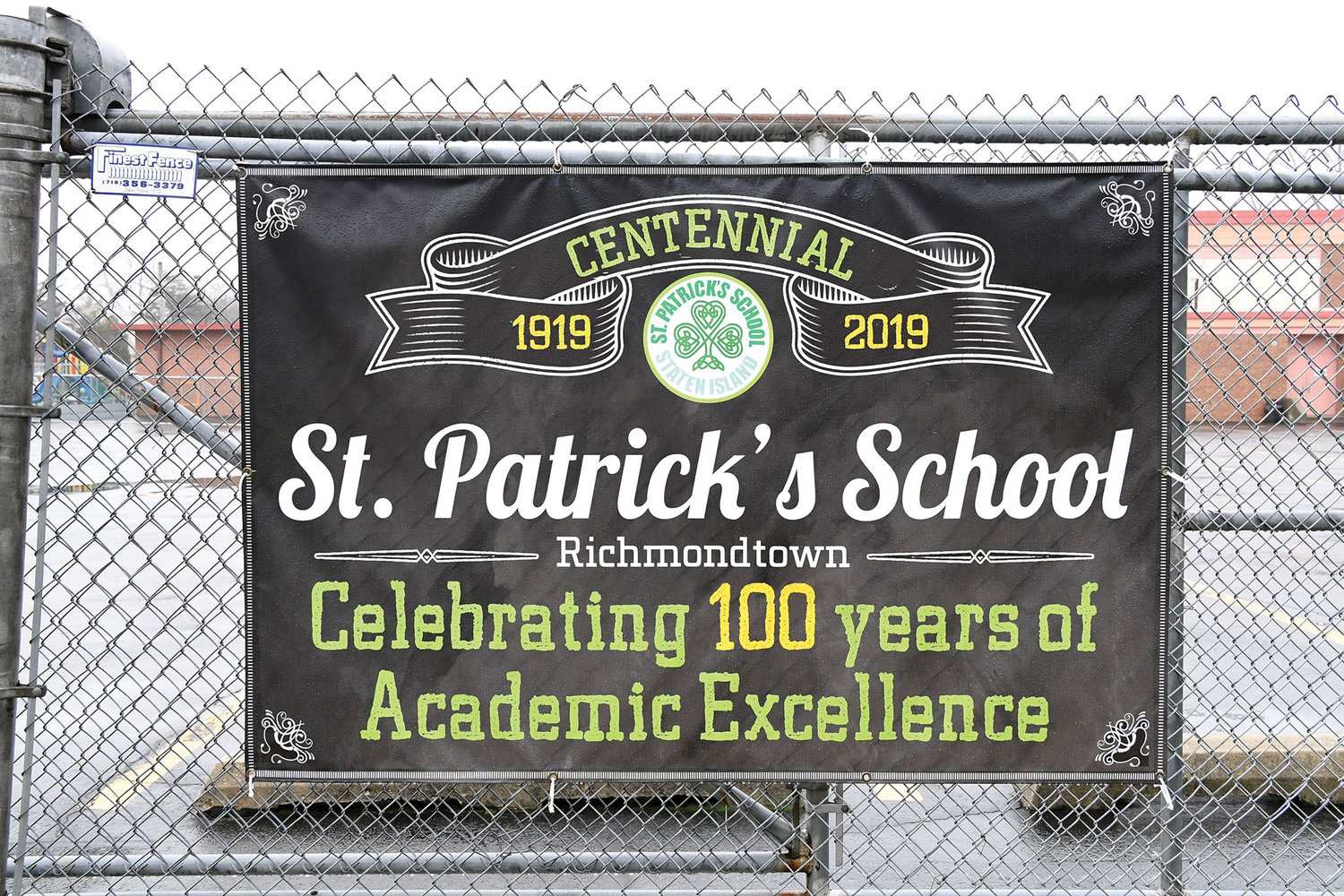 St. Patrick's School on Staten Island is celebrating its 100th anniversary this year.