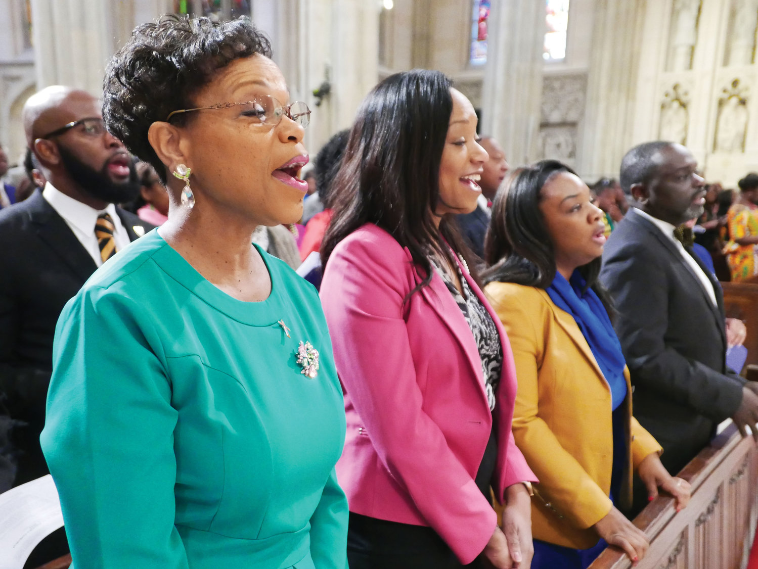 This year's Black History Month Mass took place at St. Patrick's Cathedral Feb. 3.