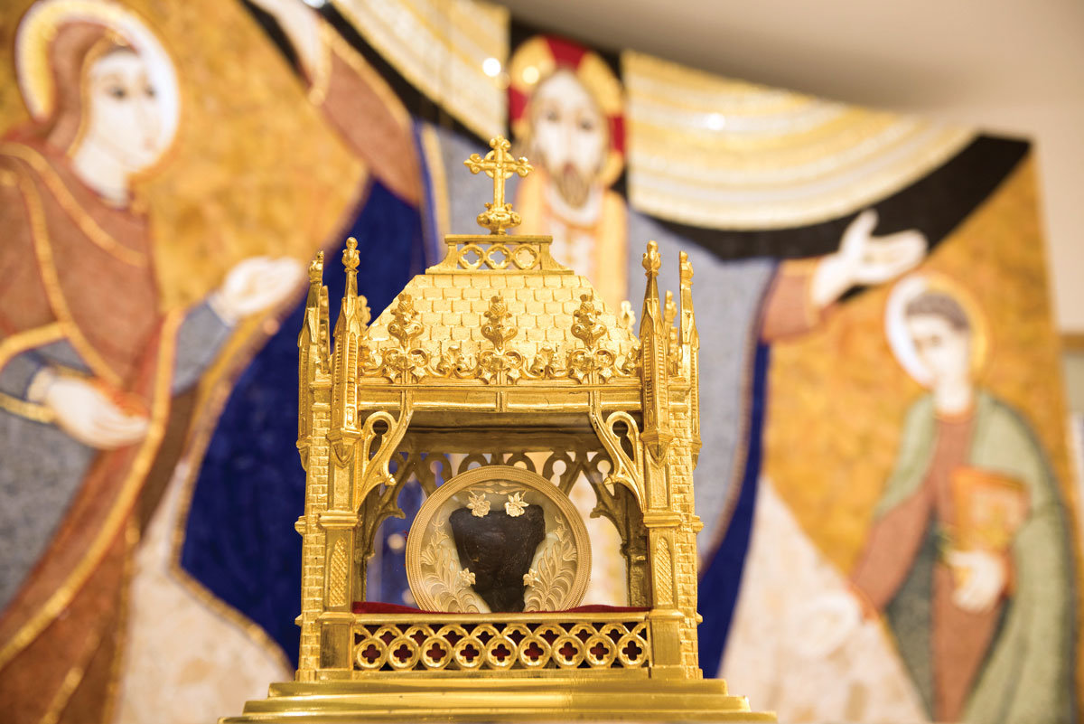 CURÉ OF ARS—A first-class relic of St. John Vianney, his incorrupt heart, will visit the archdiocese in April as part of a national pilgrimage sponsored by the Knights of Columbus. The patron saint of parish priests, he was known for his holiness and charity in 19th-century France.