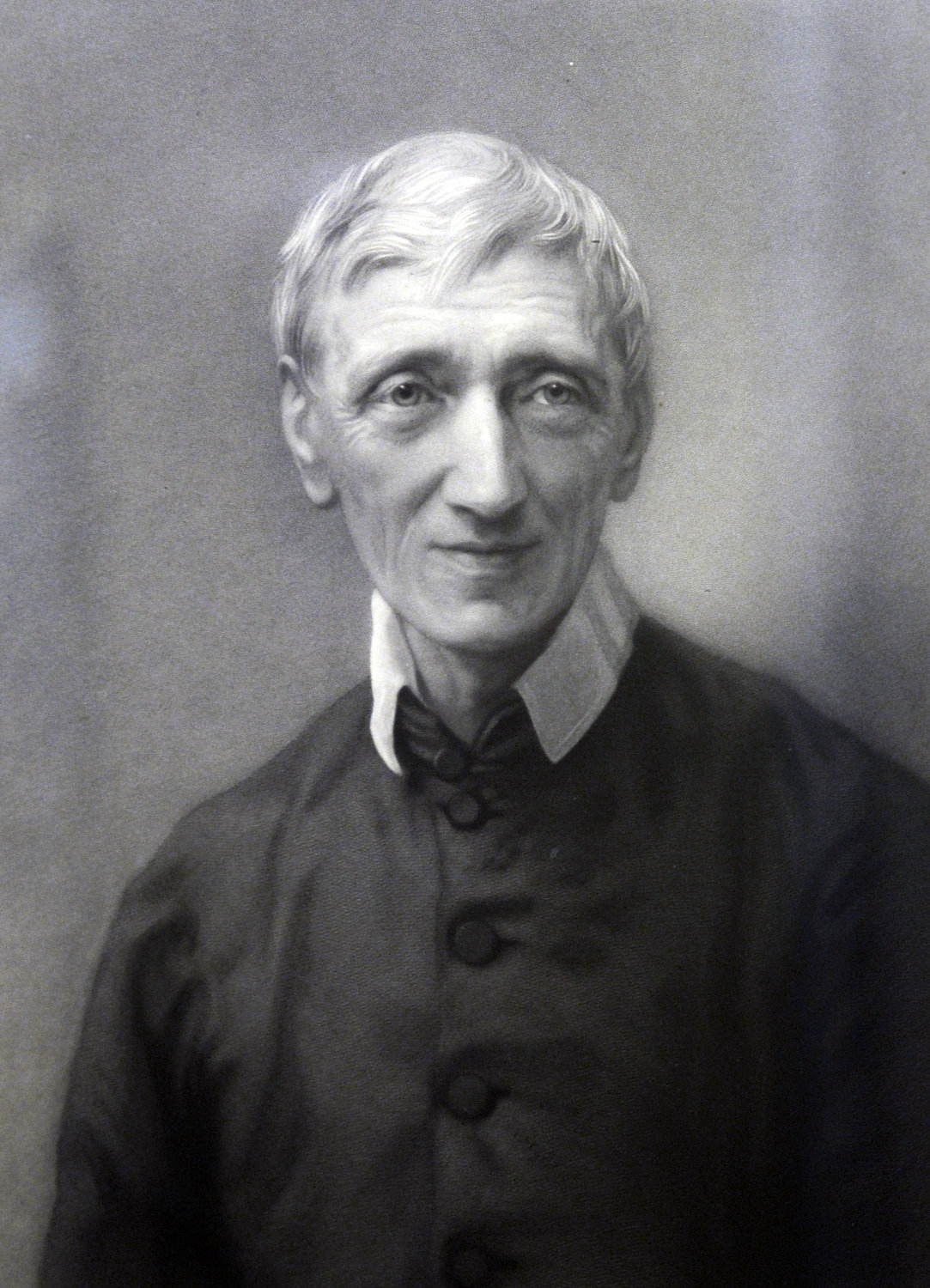 TO BE A SAINT—Blessed John Henry Newman is seen in a portrait provided by the Catholic Church in England and Wales. Pope Francis signed a decree Feb. 12 recognizing a miracle attributed to the intercession of Blessed Newman, the English cardinal, clearing the way for his canonization.