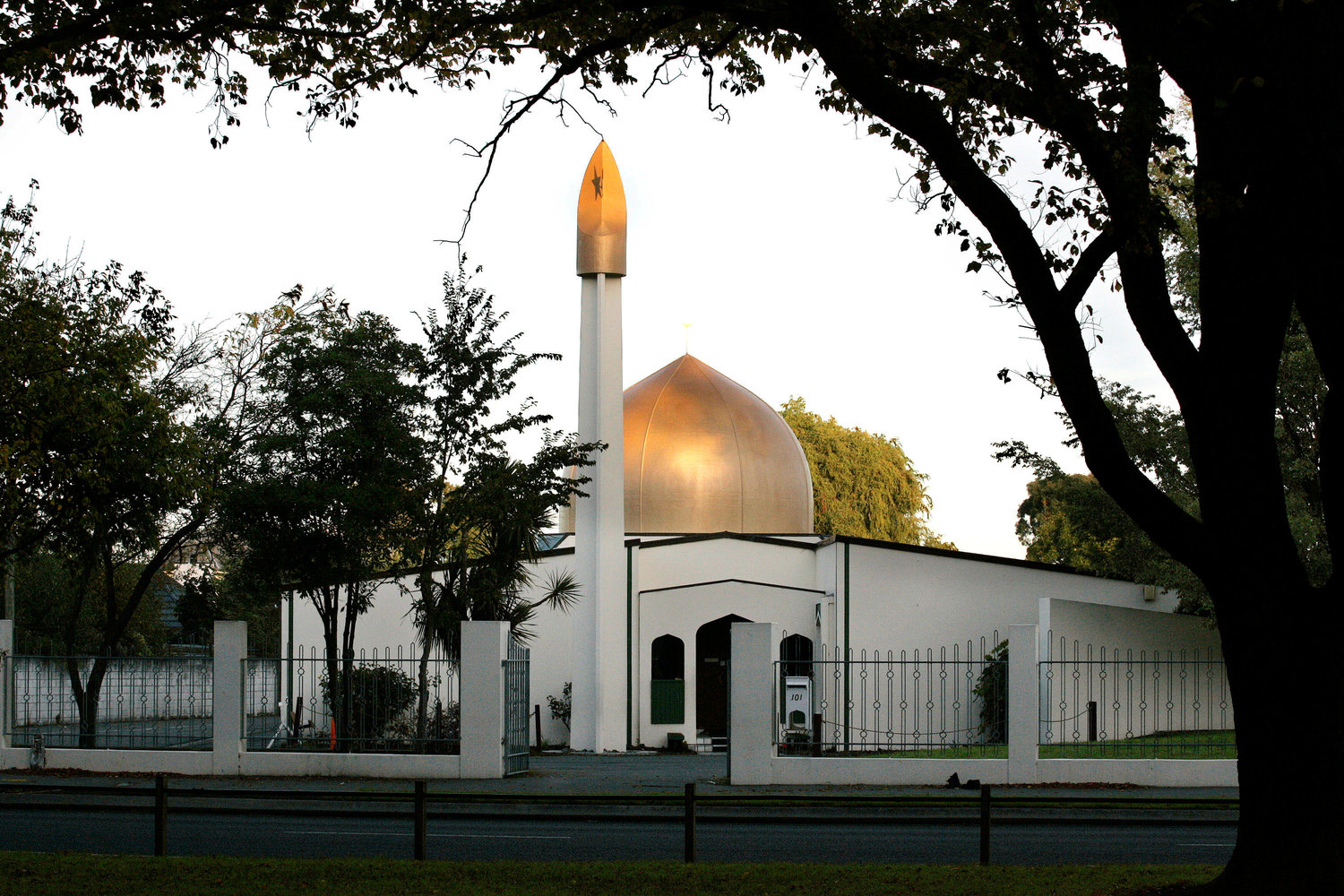 This is a view of the Al Noor Mosque on Deans Avenue in Christchurch, New Zealand, taken in 2014. The mosque was one of two attacked March 15; at least 49 people were killed.