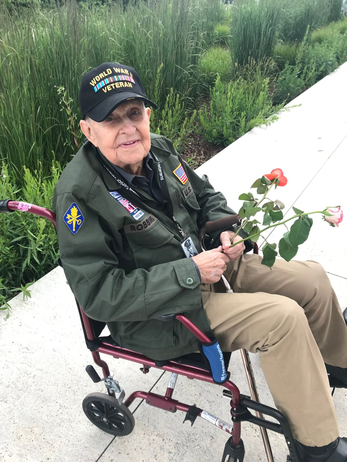 K.T. Robbins, a World War II veteran from Mississippi, returned to Normandy on June 5 for the 75th anniversary of D-Day. Robbins was one of the U.S. soldiers who stormed the shores in France in 1944.