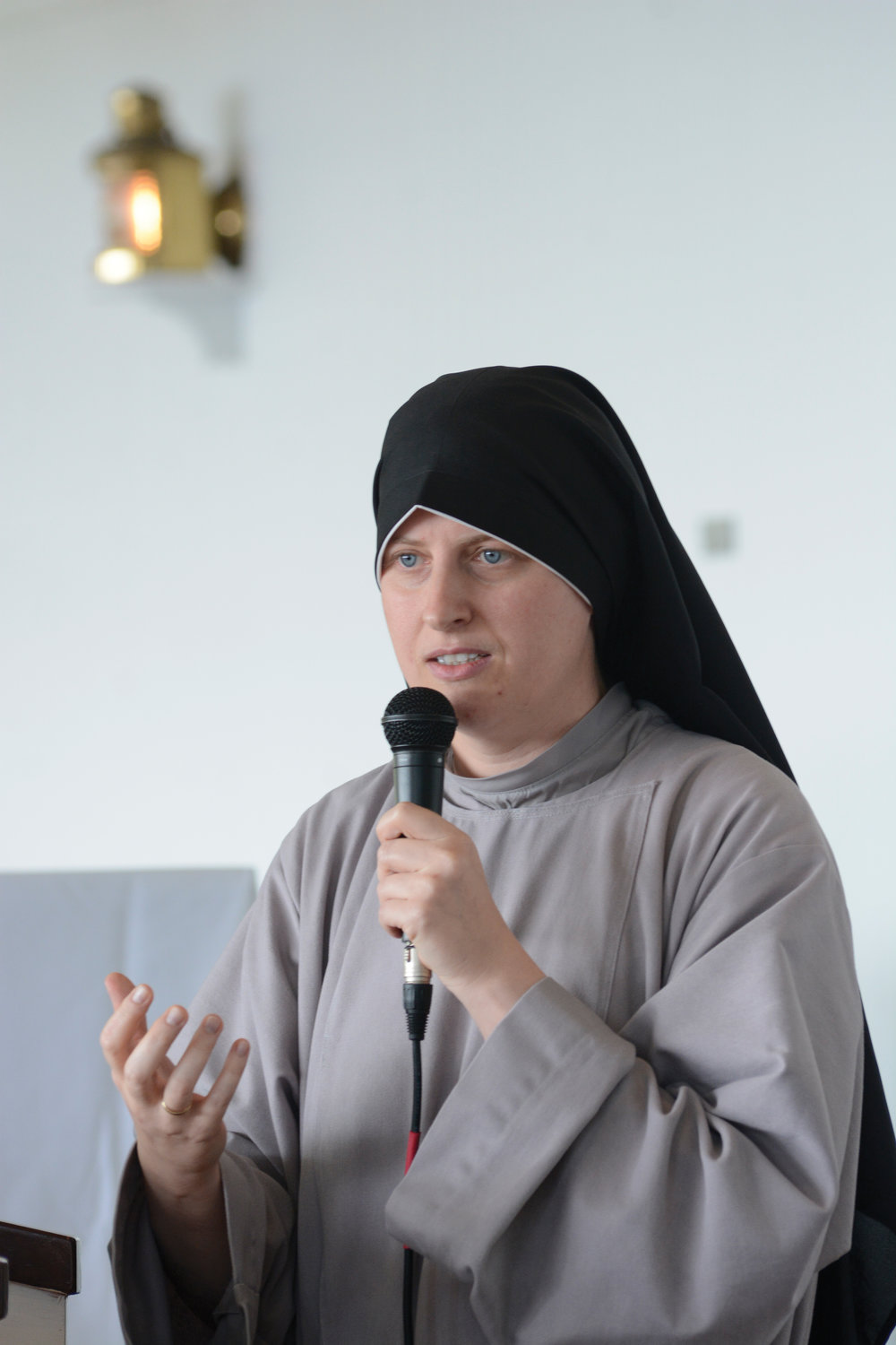 Sister Maria Teresa, C.F.R., local servant (superior) of the Franciscan Sisters of the Renewal in East Harlem, shares the story of her spiritual journey.