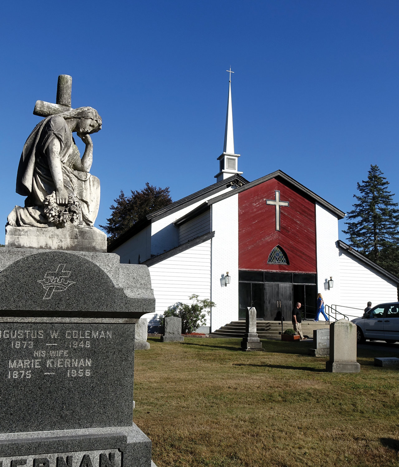 Holy Name of Jesus, which was founded in 1866 and served as a mission church until 1969, is located in the rural village of Otisville.