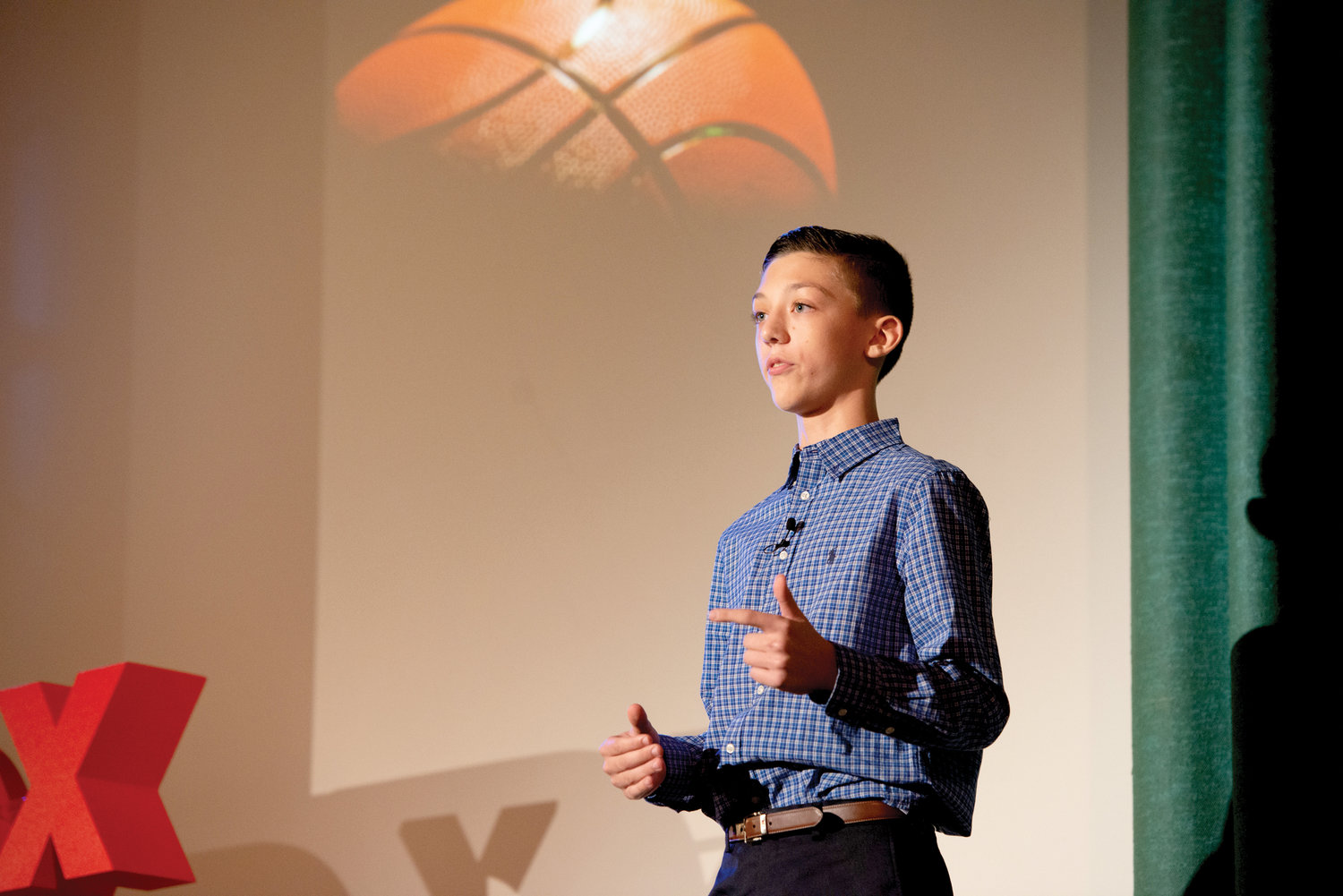 "Student Raymond Cremin presents ""Why We, and Our World, Need Sports""."