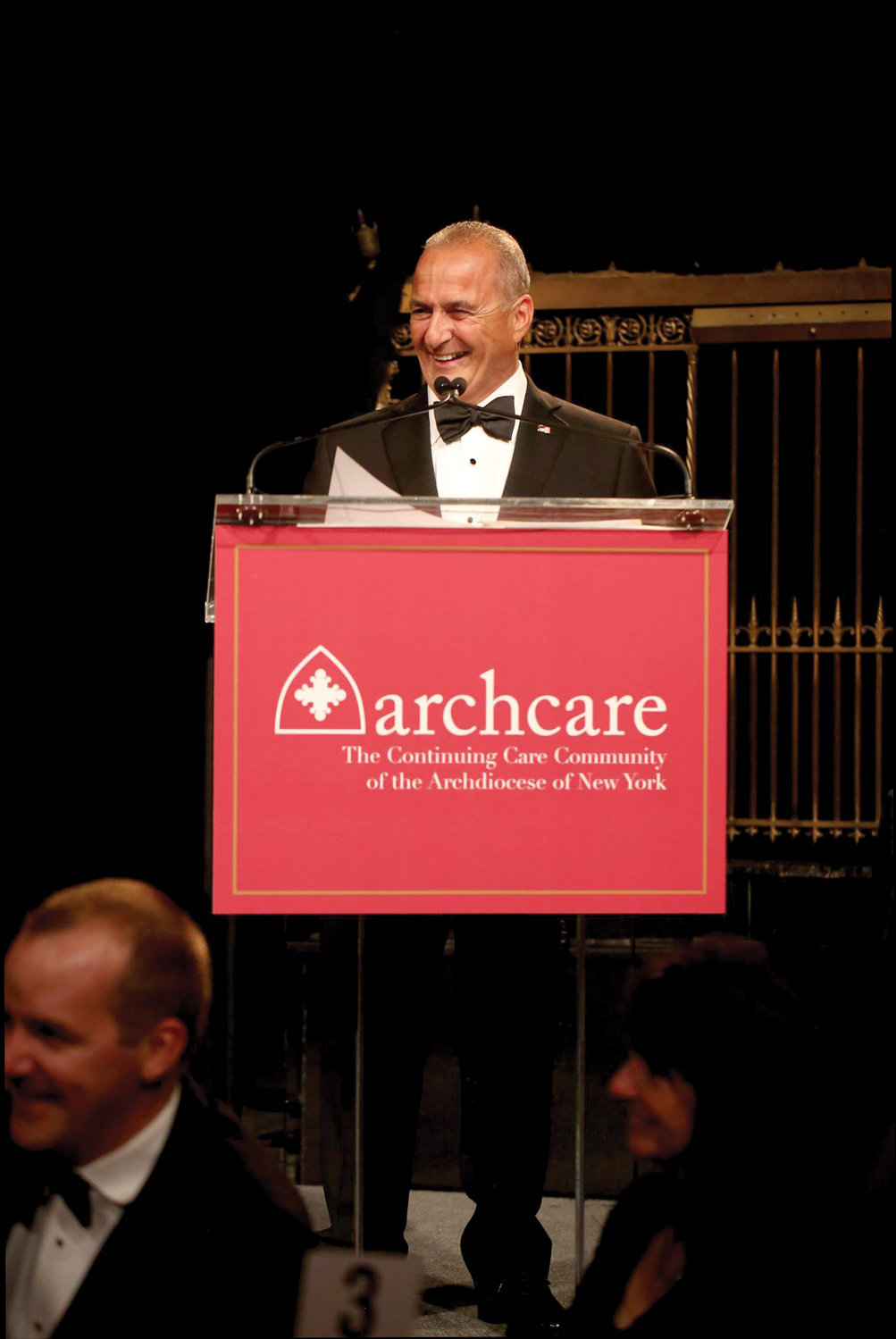 Anthony Colao Sr., president of Flag Waterproofing & Restoration Co., received the ArchCare Partnership Award.
