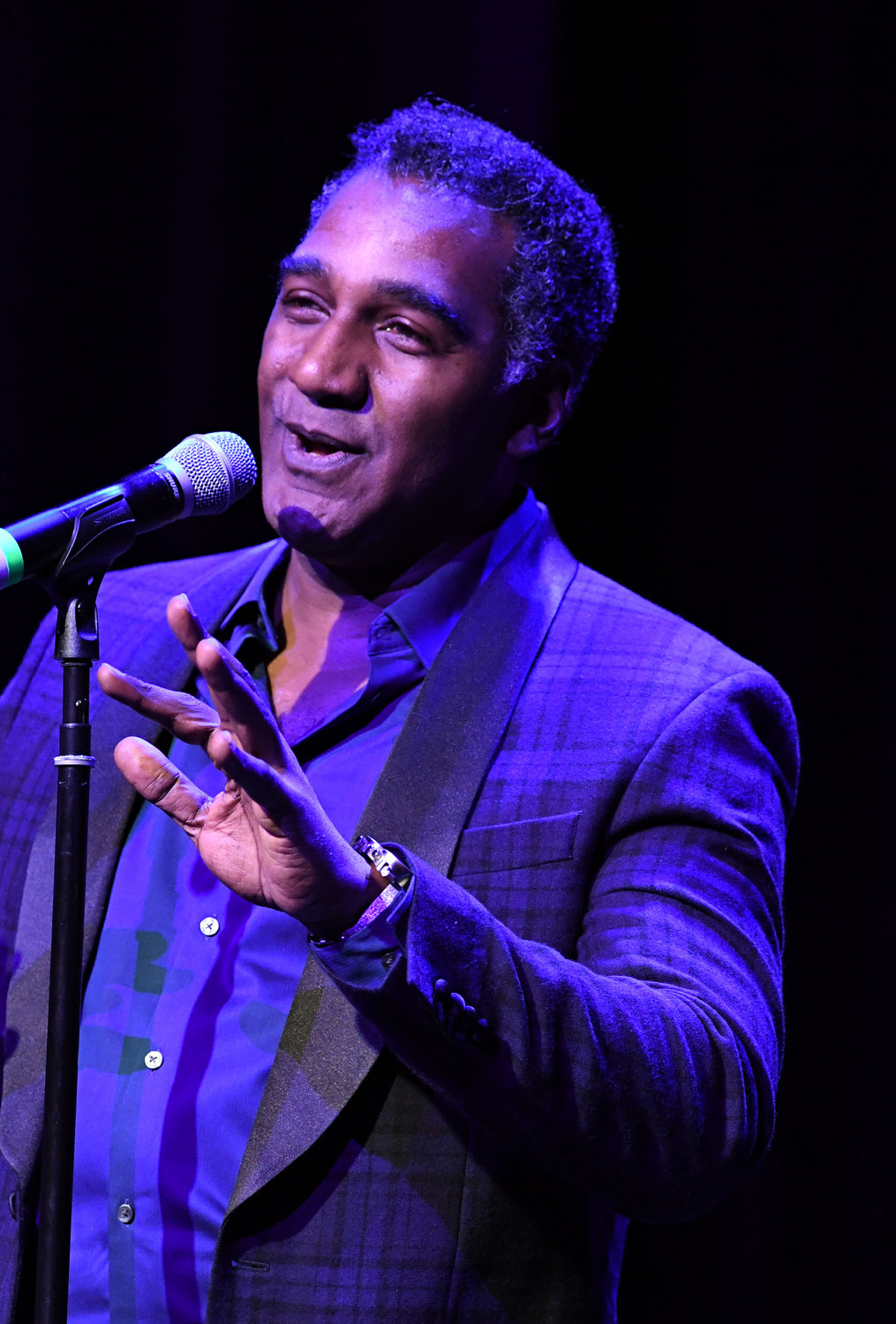 Broadway star Norm Lewis entertains the sold-out crowd.