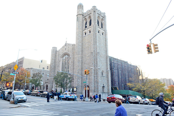 Nov 02, 2019  150th anniversary Mass and Re-Dedication of St Elizabeth Church, 268 Wadsworth Ave, NYC. W/ pastor Fr Ambiorix Rodriguez, parochial vicar Fr Michael Equino, SDB, Cardinal Timothy M. Dolan and, Auxiliary Bishops Gerald Walsh (emeritus), Josu Iriondo (emeritus), Peter Byrne. Henry Gargiulo of Artisan Restoration Co in Mt Vernon was given a gift for his work.  Reception followed.  ©Maria R Bastone