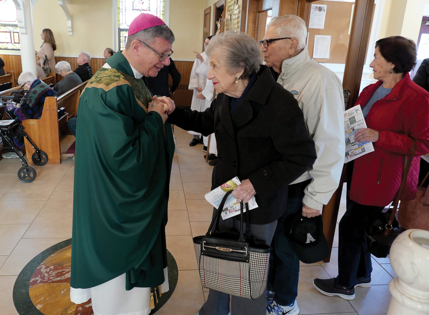 Bishop-elect Colacicco offers an inviting pastoral presence.