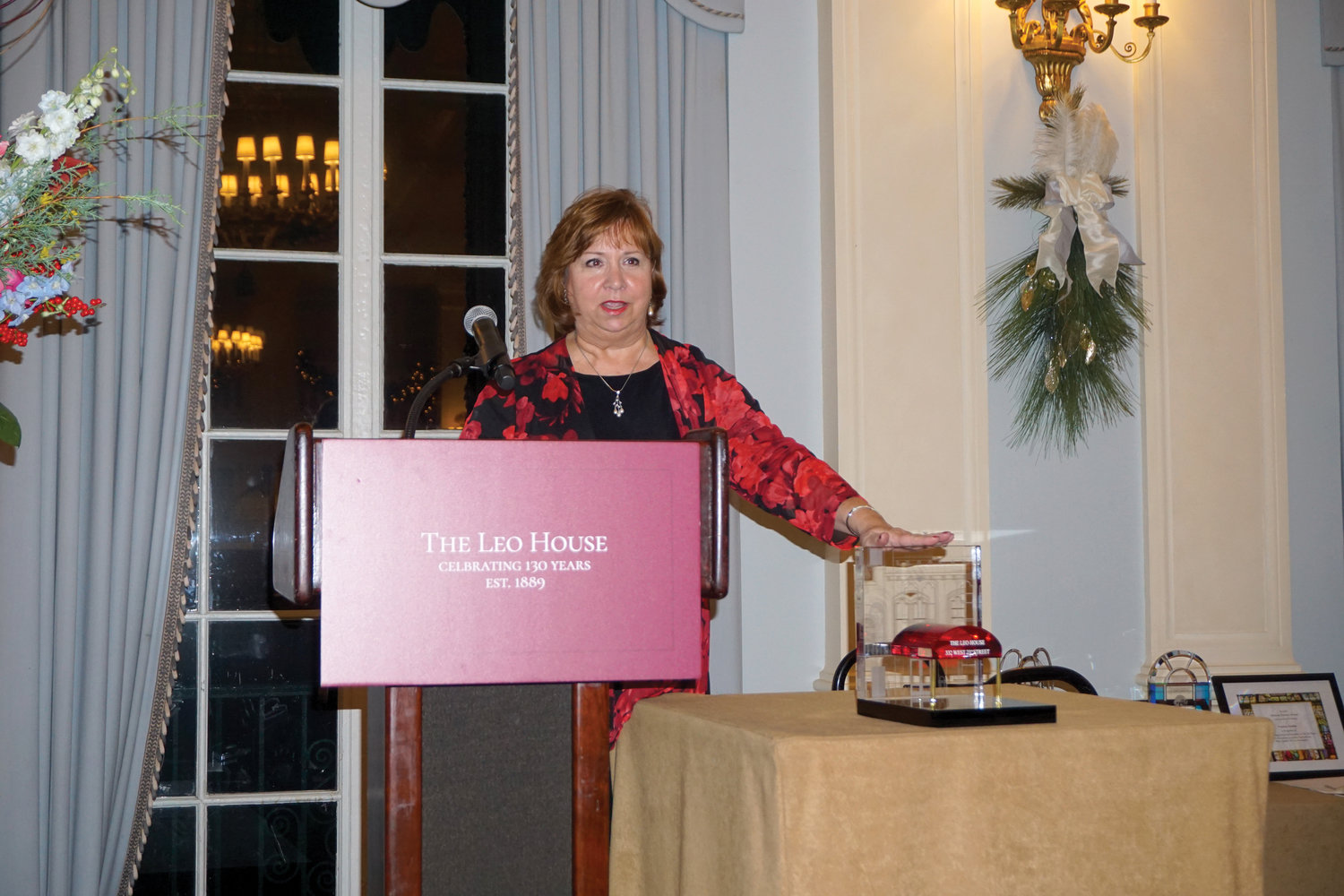 Others honored at the Dec. 9 dinner at the Yale Club in Manhattan included Catholic New York advertising representative Patricia Scanlon, who received the Mission Partner Award