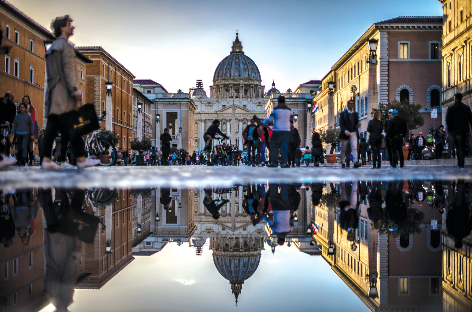 LENS ON VATICAN—