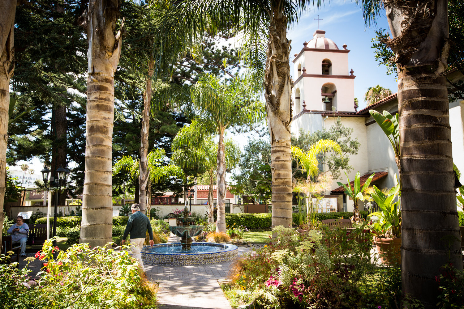 Mission San Buenaventura in Ventura, Calif., is seen in this undated photo.