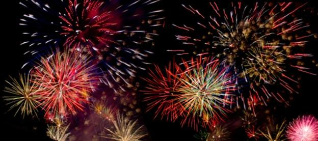 Big bang: Fireworks on the Fourth of July at Stenger Sports Field