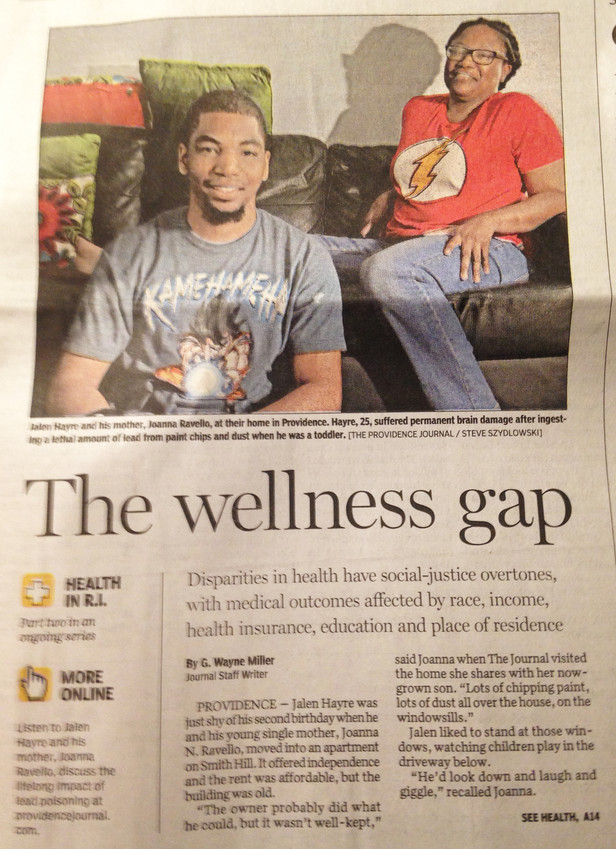 "The front page story in the Oct. 7 edition of The Providence Journal, ""The wellness gap,"" had many gaps in its reporting on health equity."