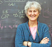 Nancy Folbre, professor emerita of Economics at the University of Massachusetts in Amherst.
